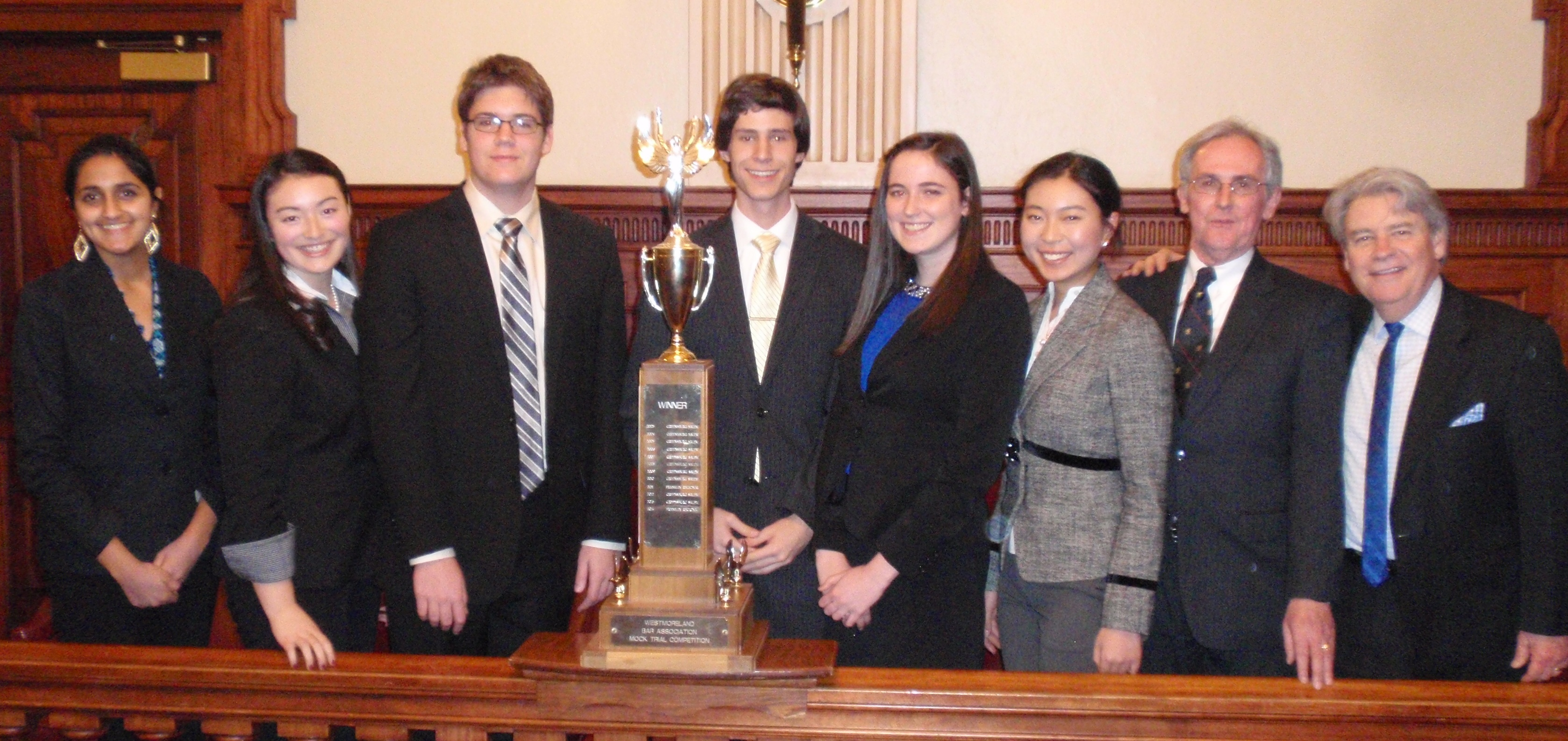 2015 Mock Trial Champions Franklin Regional
