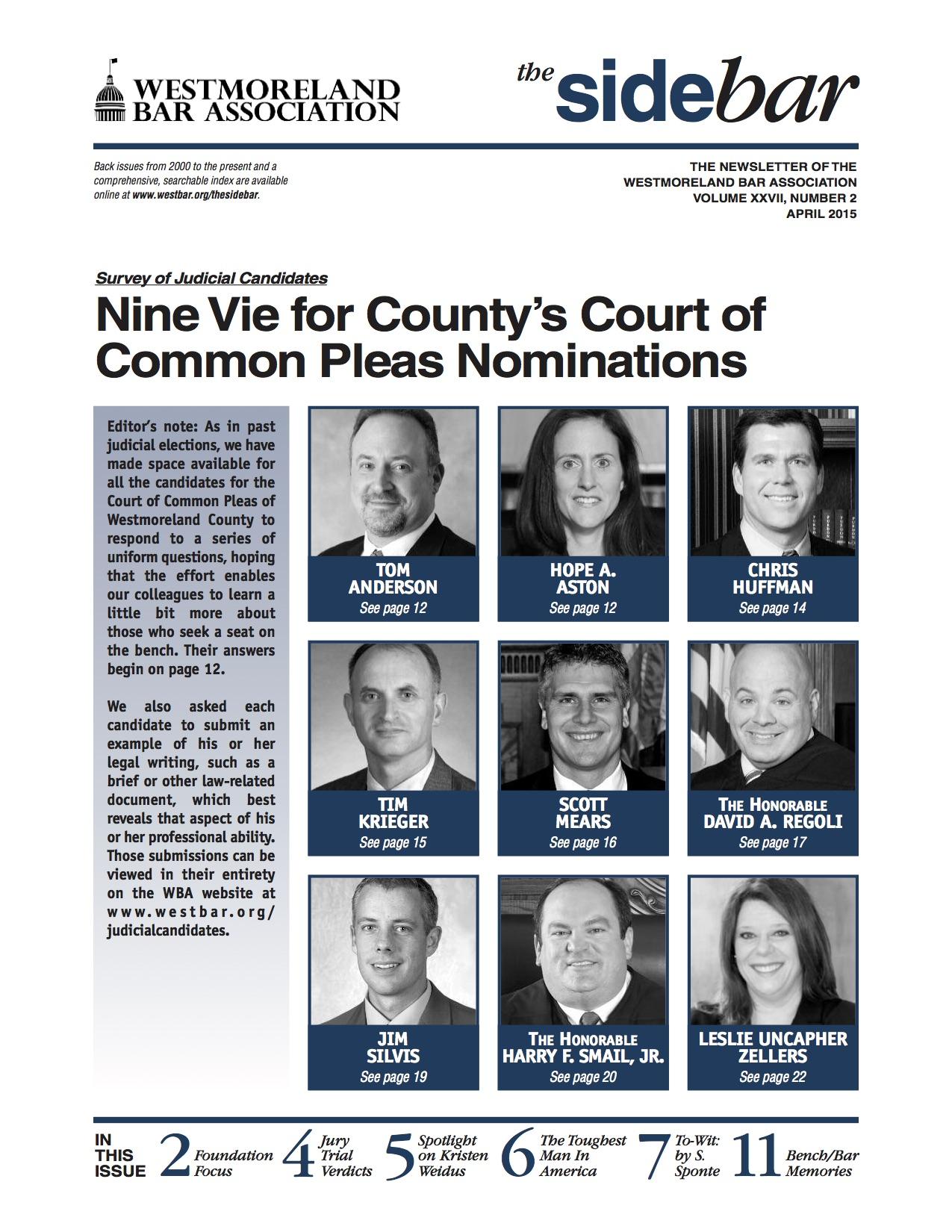April 2015 cover image